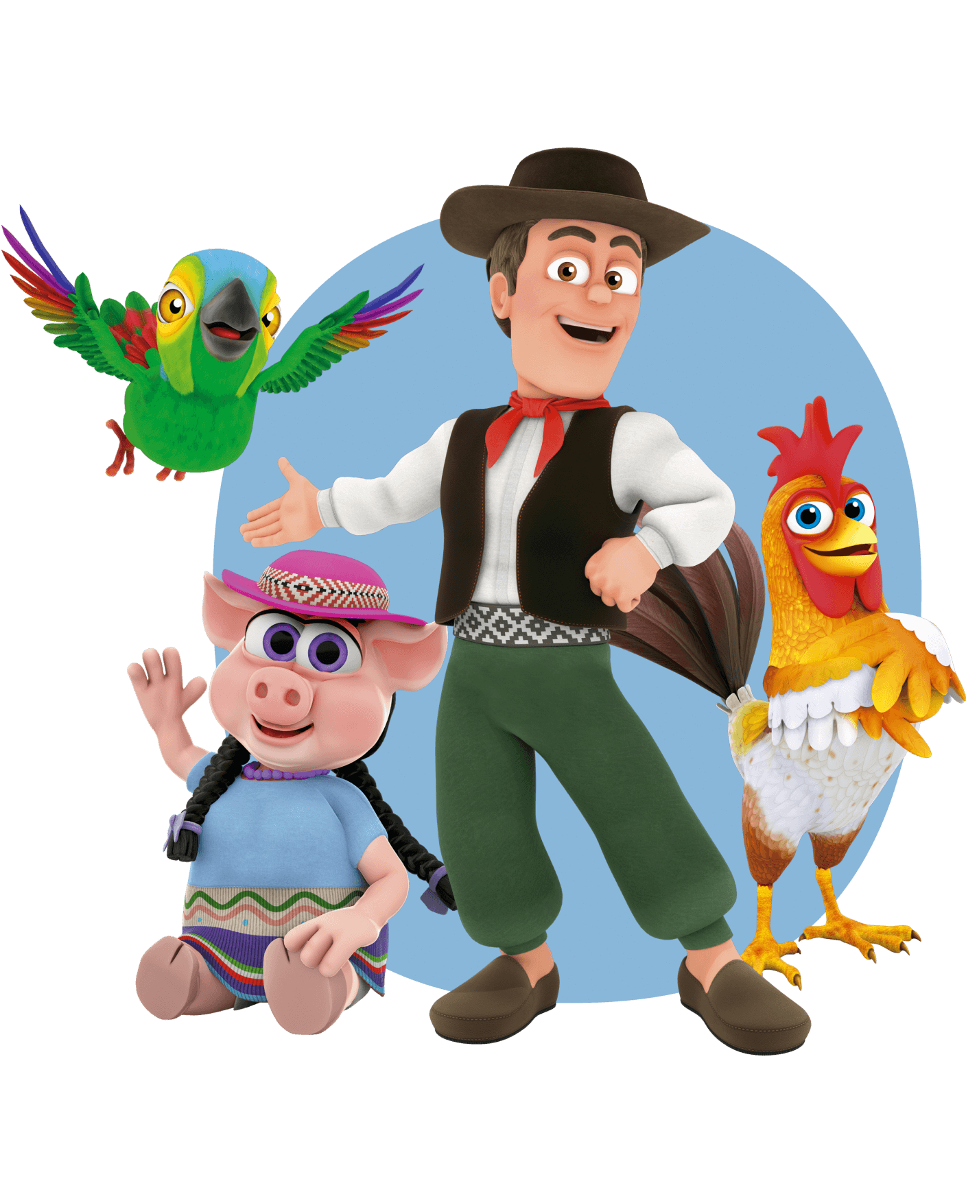 Los personajes. La granja de Zenón - ¡Exacto!